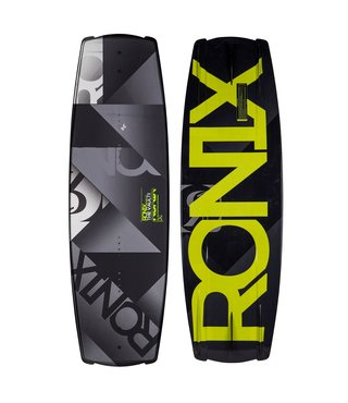 Ronix Vault Wakeboard - Silver/Black/Green 144