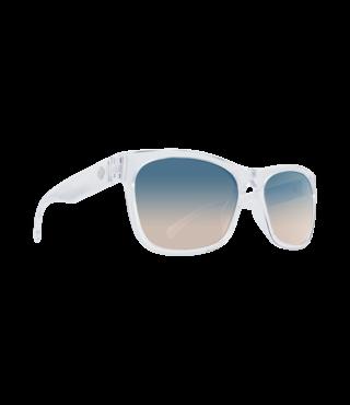 Spy Sundowner Clear Sunglasses w/ Blue Sunset Fade Lenses