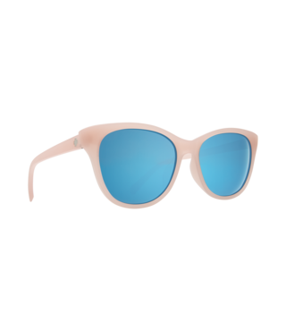 Spy Spritzer Matte Translucent Blush Sunglasses w/ Gray Light Blue Spectra Lenses