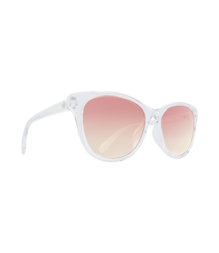 Spy Spritzer Clear Sunglasses w/ Pink Sunset Fade Lenses