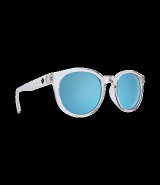 Spy Hi-Fi Crystal Sunglasses w/ Gray Light Blue Spectra Lenses