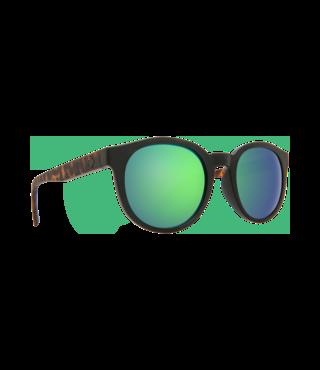 Spy Hi-Fi Matte Black/Blonde Tortoise Sunglasses w/ Gray Green Spectra Lenses