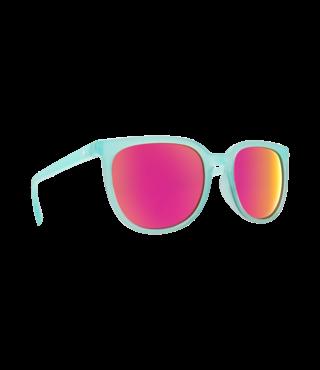 Spy Fizz Translucent Seafoam Sunglasses w/ Gray Pink Spectra Lenses
