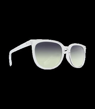 Spy Fizz Clear Sunglasses w/ Green Sunset Fade Lenses