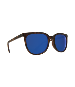 Spy Fizz Matte Blonde Tort Sunglasses w/ Gray Dark Blue Spectra Lenses