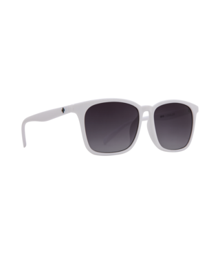 Spy Cooler White Sunglasses w/ Navy Fade Lenses