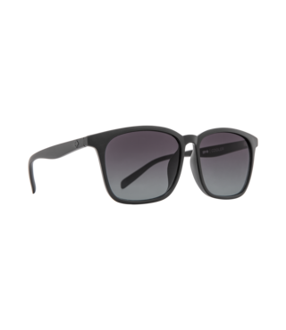 Spy Cooler Matte Black Sunglasses w/ Ocean Fade Lenses