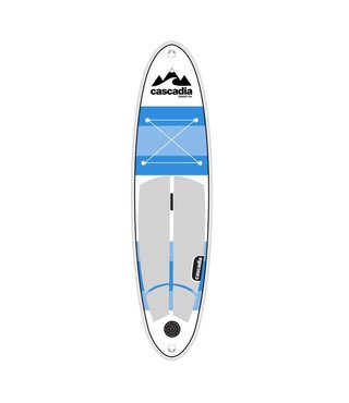 "Cascadia Chinook 10'6"" Stand Up Inflatable Paddle Board Set"