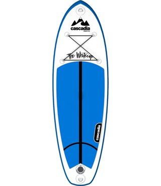 Cascadia Junior Whitecap 8' Stand Up Inflatable Paddle Board Set