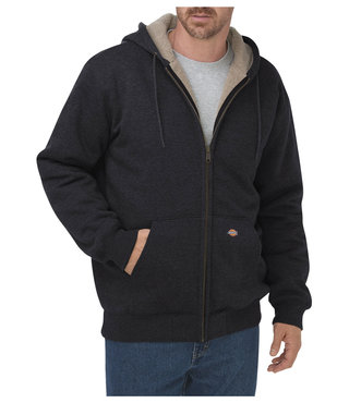Dickies Sherpa Lined Fleece Hoodie - Black