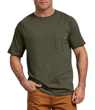 Dickies Temp-iQ™ Performance Cooling T-Shirt - Moss Green