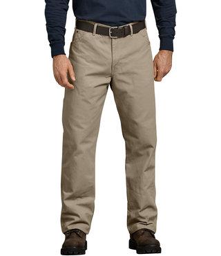Dickies Relaxed Fit Straight Leg Carpenter Duck Jeans - Desert Khaki