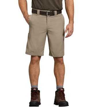 "Dickies Flex 11"" Relaxed Fit Work Short - Desert Khaki"