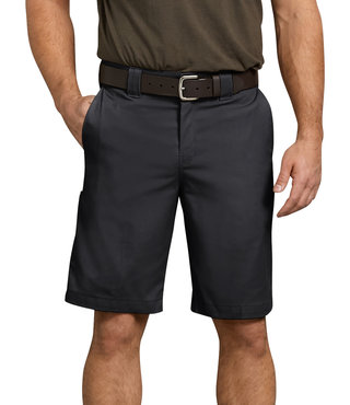 "Dickies Flex 11"" Relaxed Fit Work Short - Black"
