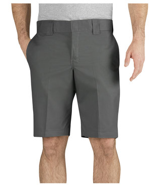 "Dickies FLEX 11"" Slim Fit Work Shorts - Gravel Grey"