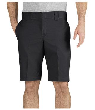 """Dickies FLEX 11"""" Slim Fit Work Shorts - Black"""