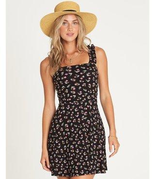 Billabong Hey Bonita Mini Dress - Black