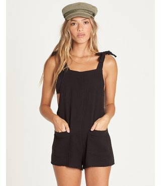 Billabong Girl On The Run Overall - Black