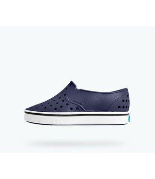 Native Miles Child Shoes - Regatta Blue / Shell White