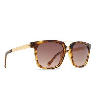VonZipper Plimpton Sunglasses - Tortoise Gold / Bronze Gradient