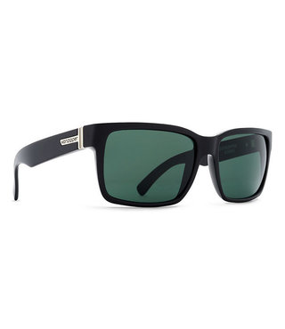 VonZipper Elmore Sunglasses - Black Gloss / Vintage Grey