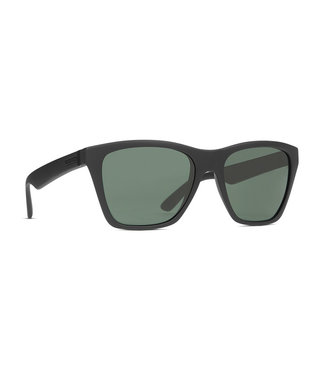 VonZipper Booker Sunglasses - Black Satin / Vintage Grey