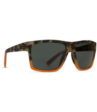 VonZipper Dipstick Sunglasses - Camo Blaze Satin / Vintage Grey