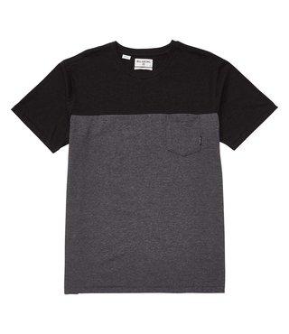 Billabong Zenith Blocked Short Sleeve Crew T-Shirt - Black