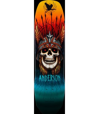 Powell Peralta 8.45 x 31.8 Pro Andy Anderson Heron Flight® Skateboard Deck