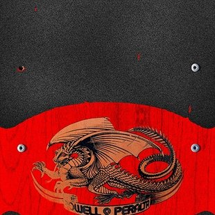 Powell Peralta Grip Tape Sheet 10.5 x 33 Oval Dragon