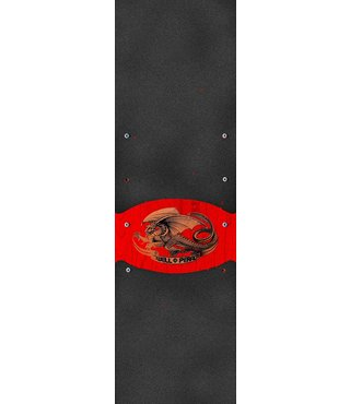 Powell Peralta Grip Tape Sheet 10.5 x 33 Oval Dragon