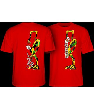 Powell Peralta Ray Barbee Rag Doll T-Shirt - Red