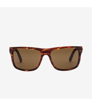 Electric Swingarm Matte Tort Sunglasses w/ Bronze Polarized Lenses