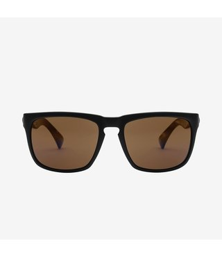 Electric Knoxville Matte Black Sunglasses w/ Bronze Polarized Lenses