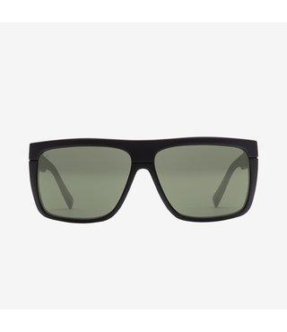 Electric Black Top Matte Black Sunglasses w/ Grey Lenses