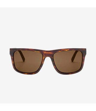 Electric Swingarm XL Matte Tort Sunglasses w/ Bronze Lenses