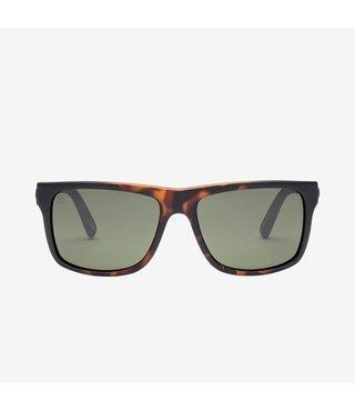 Electric Swingarm Tort Burst Sunglasses w/ Grey Lenses