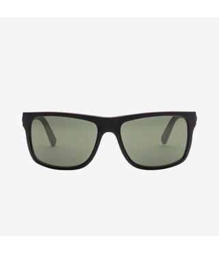 Electric Swingarm Matte Black Sunglasses w/ Grey Polarized Lenses