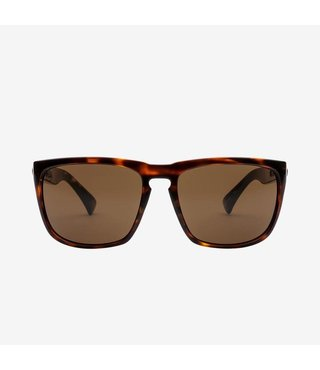 Electric Knoxville XL Gloss Tort Sunglasses w/ Bronze Lenses
