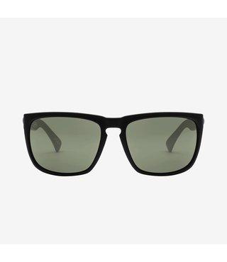 Electric Knoxville XL Matte Black Sunglasses w/ Grey Lenses
