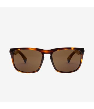 Electric Knoxville Gloss Tort Sunglasses w/ Bronze Lenses