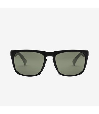 Electric Knoxville Matte Black Sunglasses w/ Grey Lenses