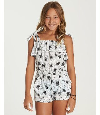 Billabong Girls' Summer Road Romper - Cool Wip
