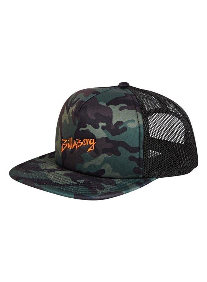 Billabong Eighty Six Trucker Hat - Camo