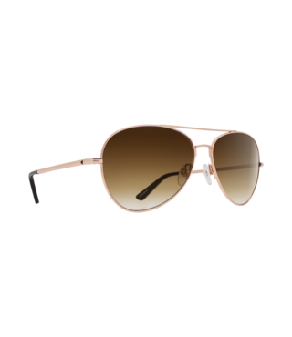Spy Whistler Rose Gold Sunglasses w/ Happy Bronze Fade Lenses