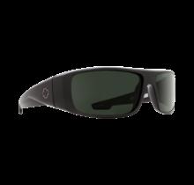 Spy Logan Matte Black Sunglasses w/ Bronze Polar Green Spectra Lenses