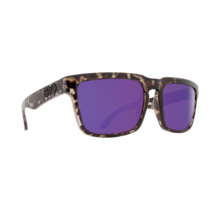 Spy Helm Smoke Tort Sunglasses w/ Happy Bronze Purple Spectra Lenses