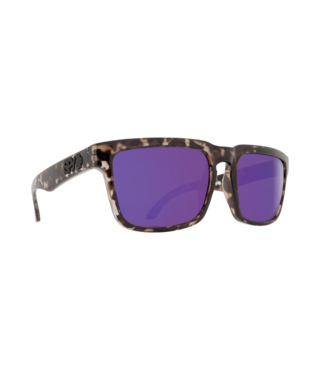 Spy Helm Smoke Tort Sunglasses w/ Happy Bronze Purple Spectra Lenses