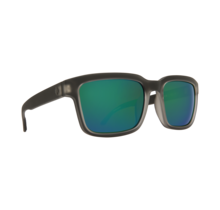 Spy Helm 2 Matte Black Ice Sunglasses w/ Happy Bronze Emerald Spectra Lenses