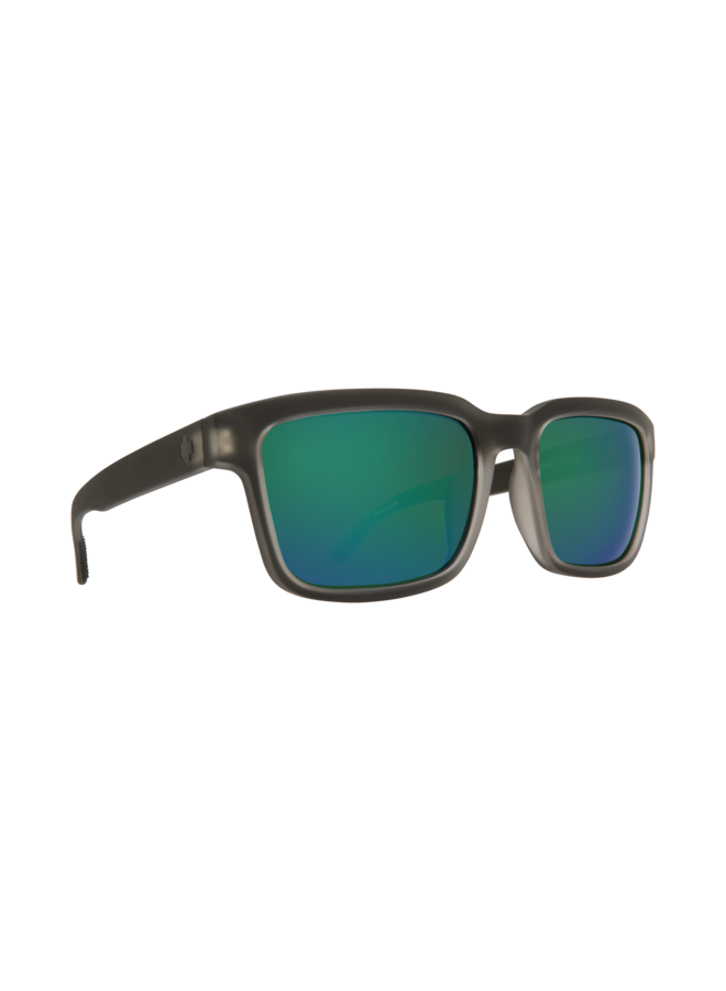Spy Helm 2 Matte Black Ice Sunglasses w/ Happy Bronze Emerald Spectra Lenses